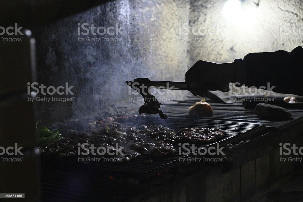 Barbecue Shot stock photo