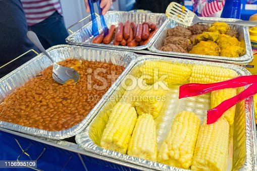 534317162 istock photo Barbecue Steam Trays 1156935109