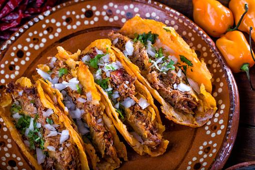 Barbecue taco
