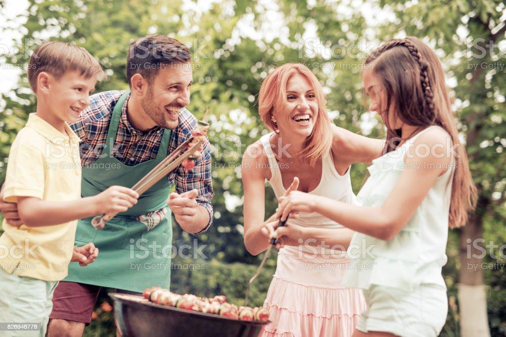 Barbecue-Zeit – Foto