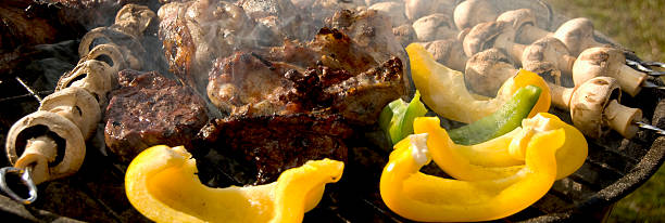 Barbecue time stock photo