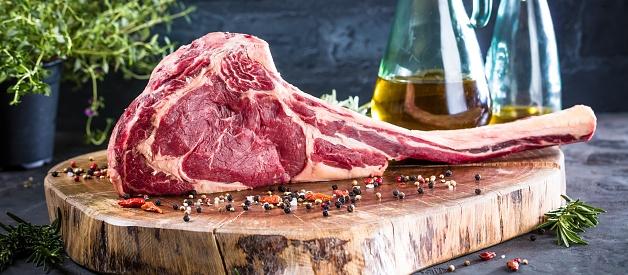 istock Barbecue Tomahawk Steak 1044639546