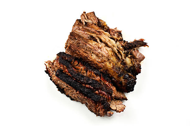Barbecued Beef Brisket stock photo