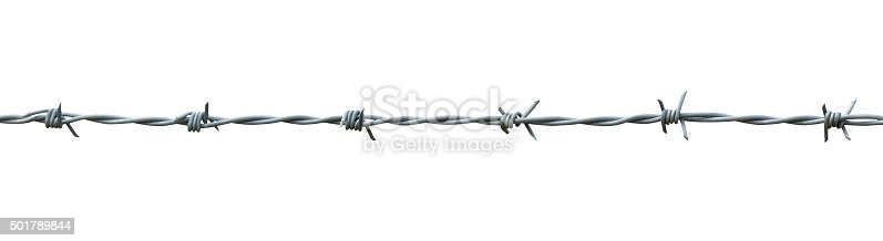 istock barbed wire 501789844
