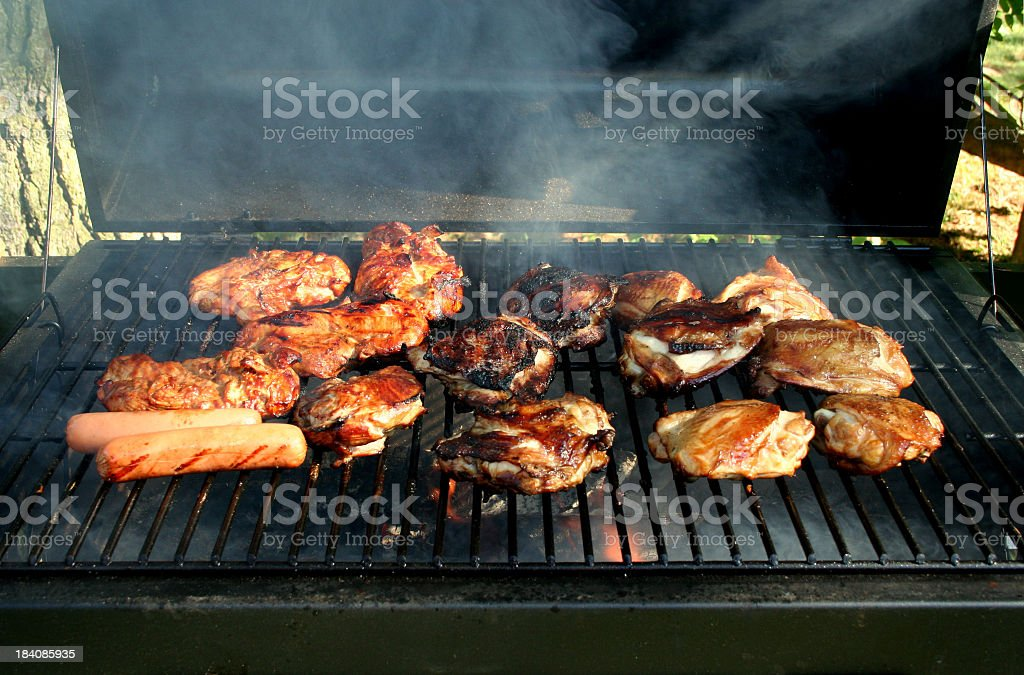 Barbeque Chicken stock photo