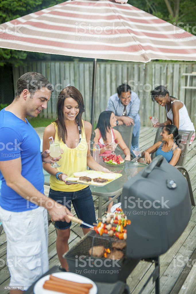 Barbeque stock photo