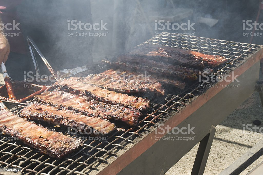 Barbeque Ribs royalty-free stock photo