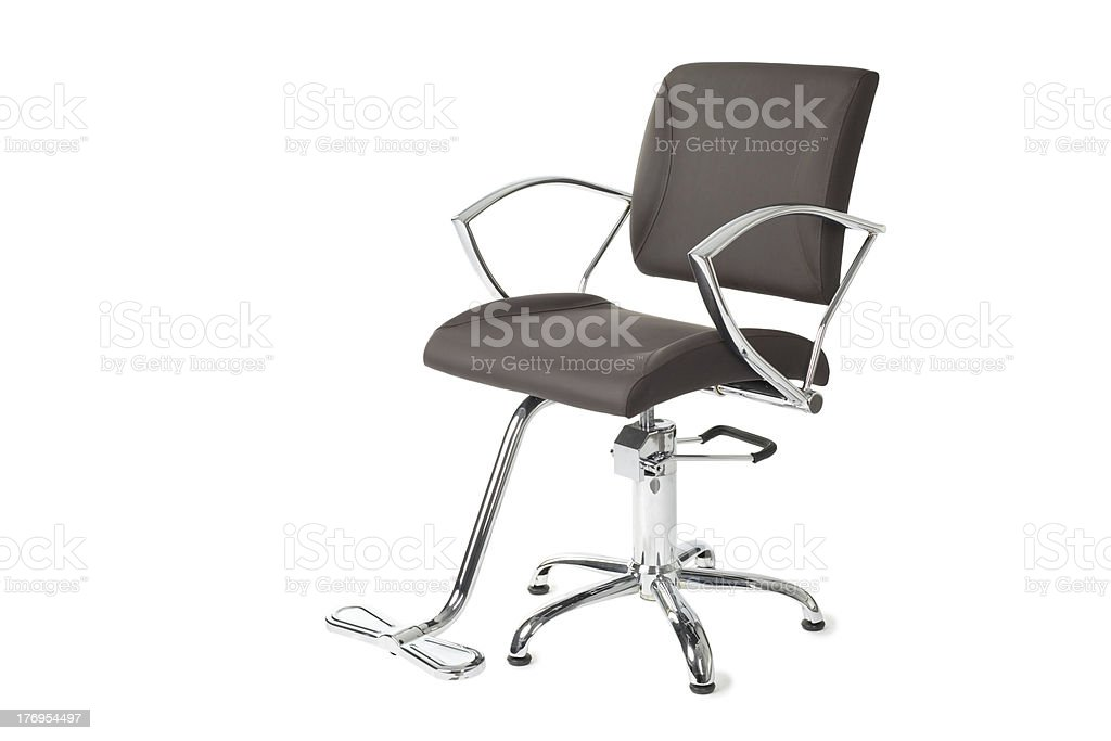 barber chair royalty-free stock photo