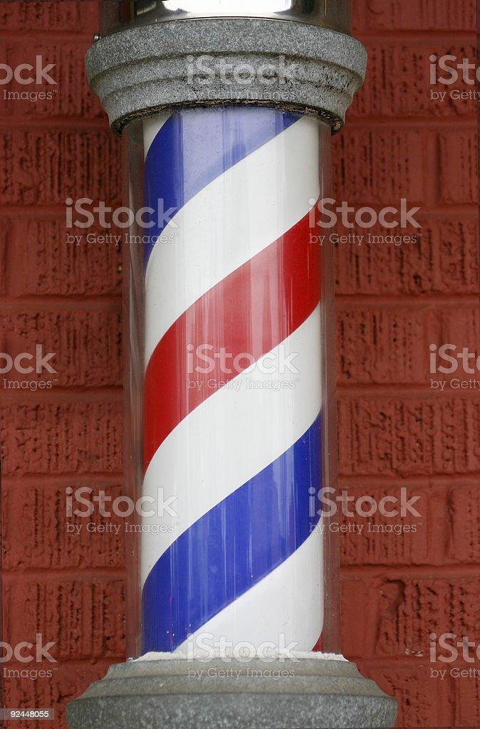 barber pole royalty-free stock photo