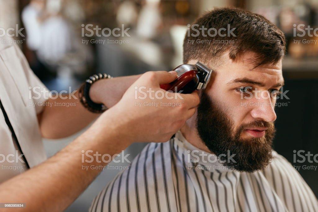 Barber Shop Manner Haare Schneiden Barbier Manner Mode Frisur Zu Tun