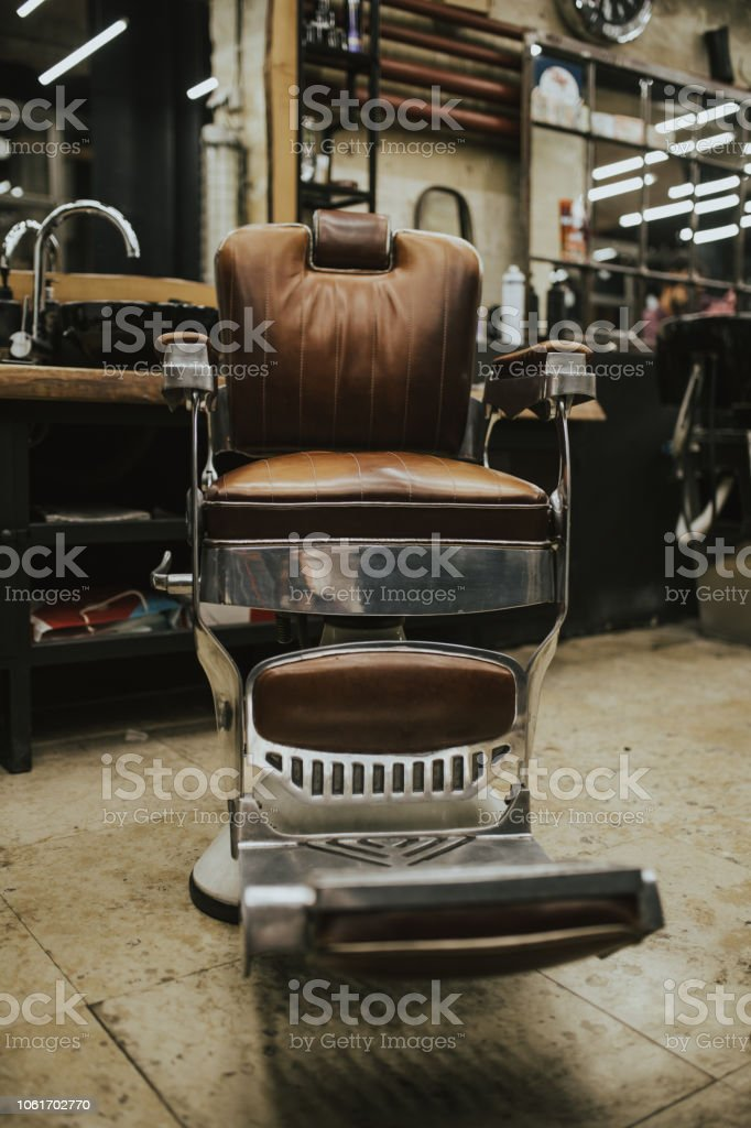 Barber shop stock photo