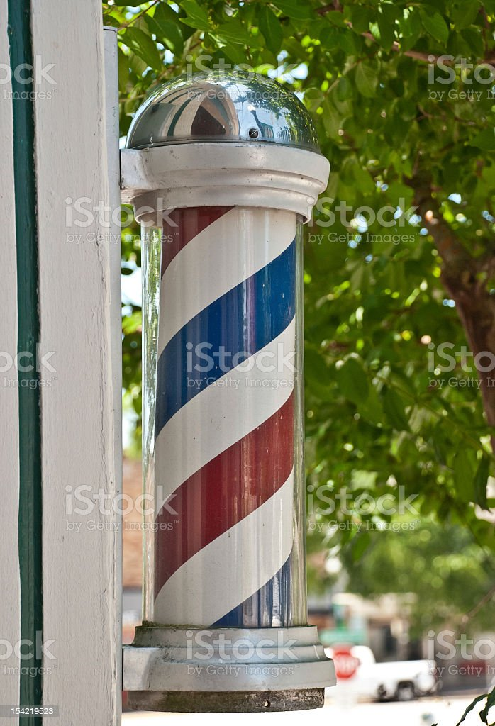 Barber Shop Sign stock photo