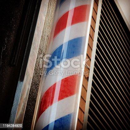istock Barbers pole 1194284920