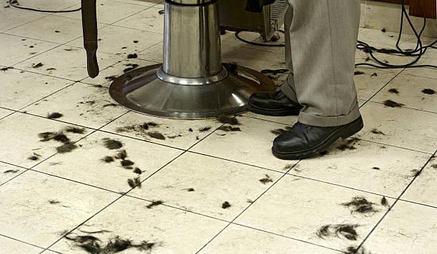 Barbershop Haircut stock photo