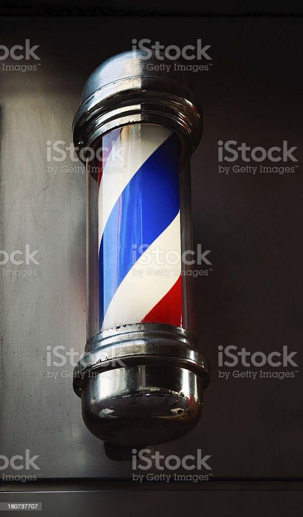 Barbershop Pole stock photo