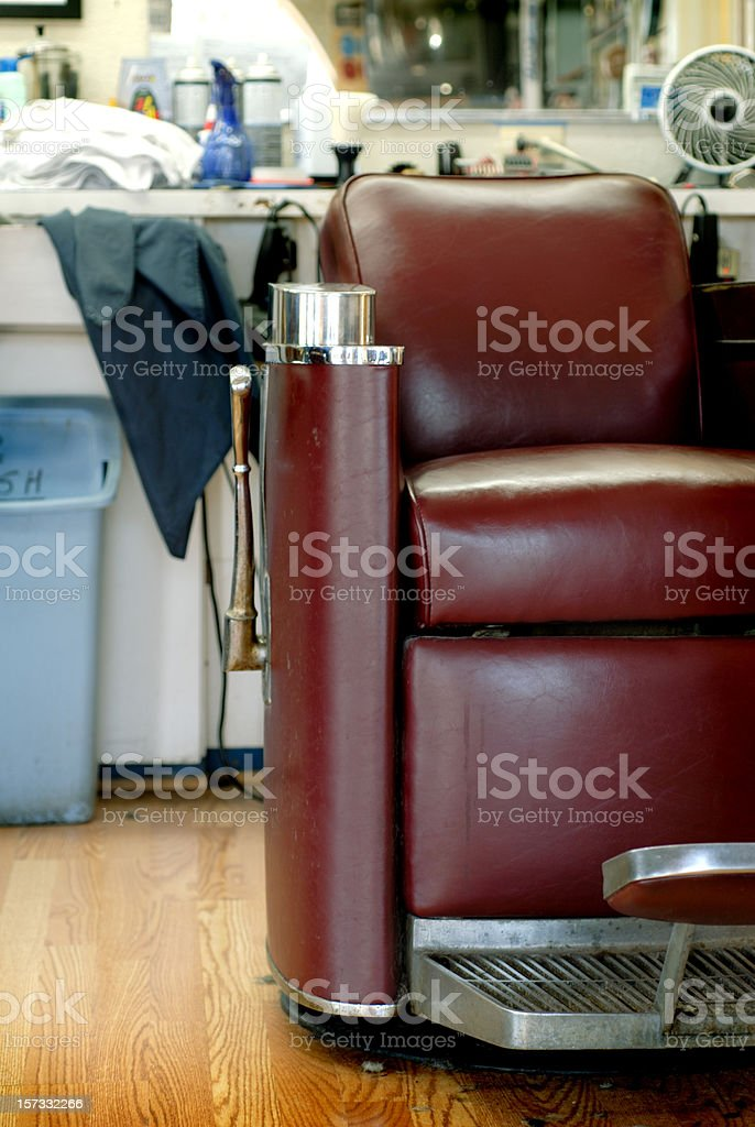 Barbershop Series D royalty-free stock photo
