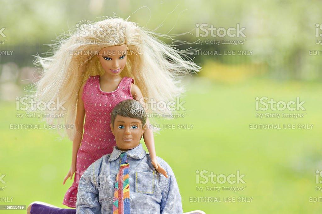 Barbie e Ken - foto de acervo