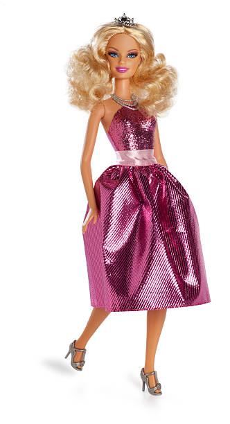 barbie puppe - prinzessinnenschuhe stock-fotos und bilder