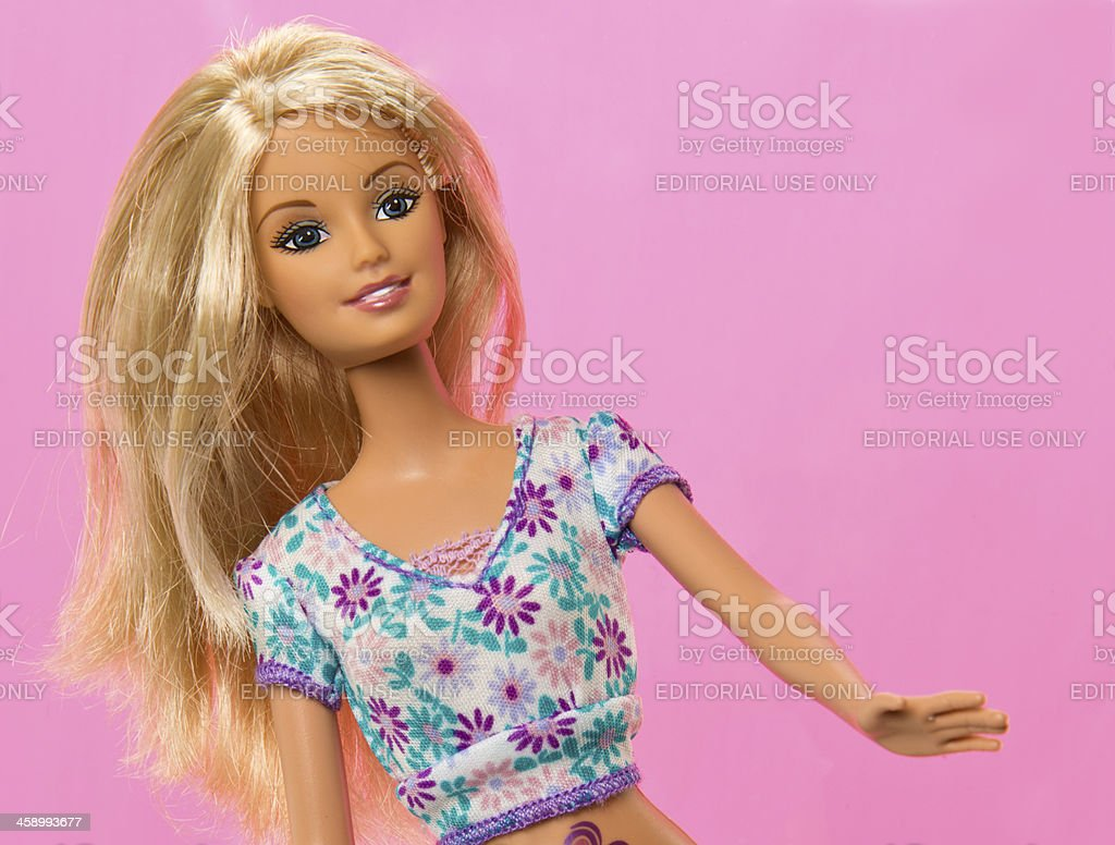 Boneca Barbie Fashon - foto de acervo