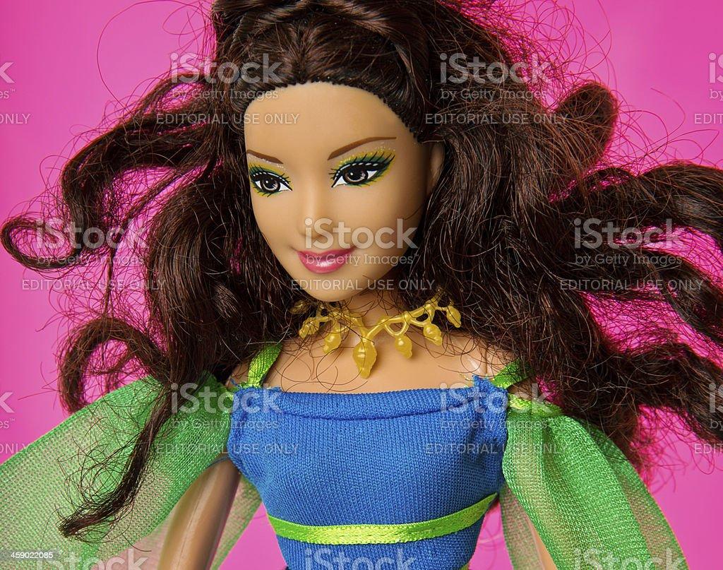 Barbie Fashon Doll royalty-free stock photo