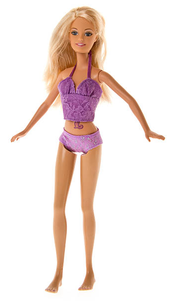 Barbie Fashon Doll Standing stock photo