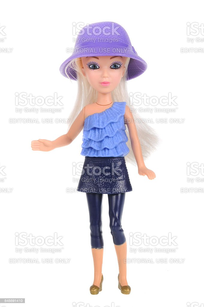 Barbie Happy Meal Toy stock photo