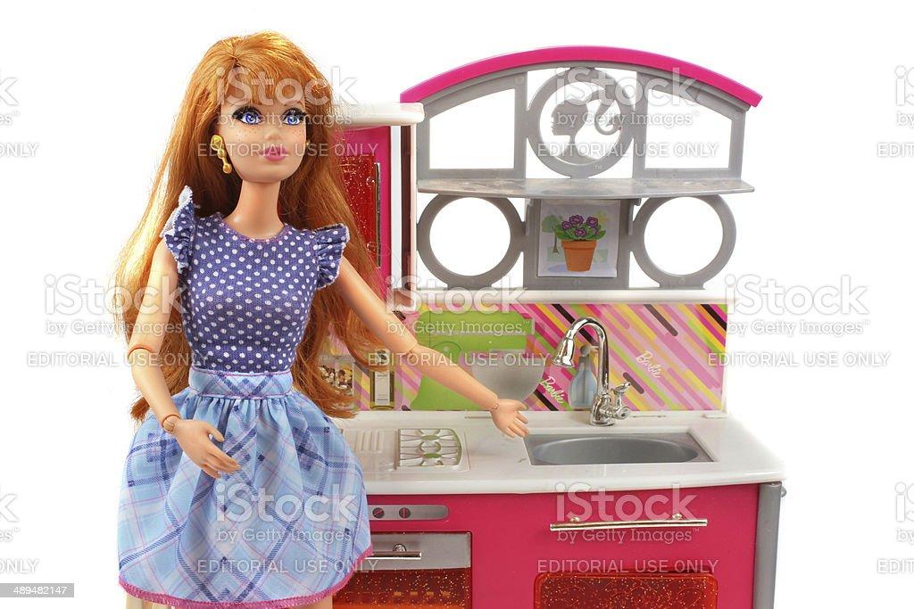 Juegos De Cocina De Barbie Stock Fotos E Imagenes Istock