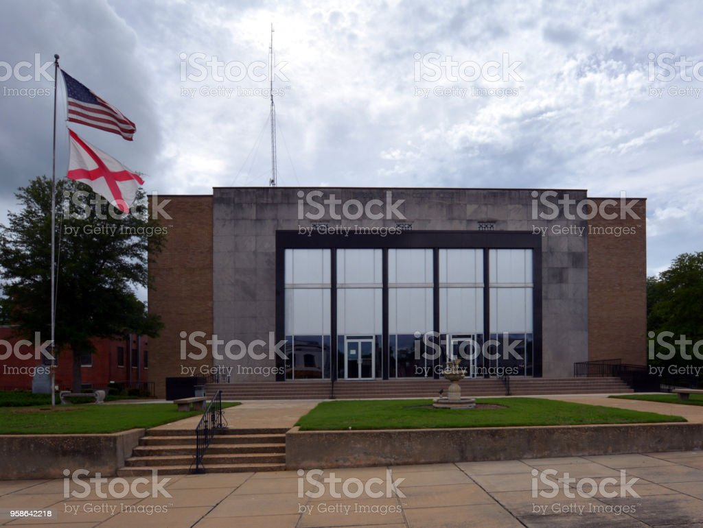 Barbour County Courthouse stock photo