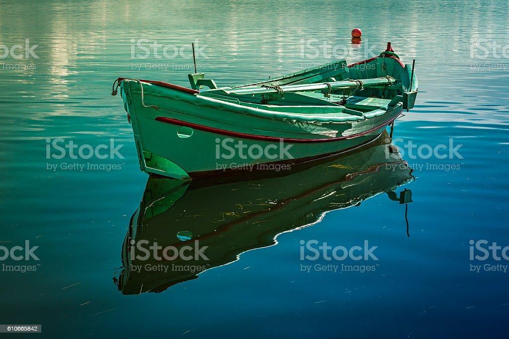 Barca Riflessa stock photo