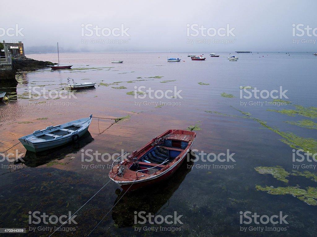 Barcas de pescadores royalty-free stock photo