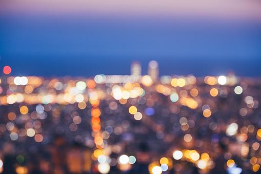 Barcelona City Lights