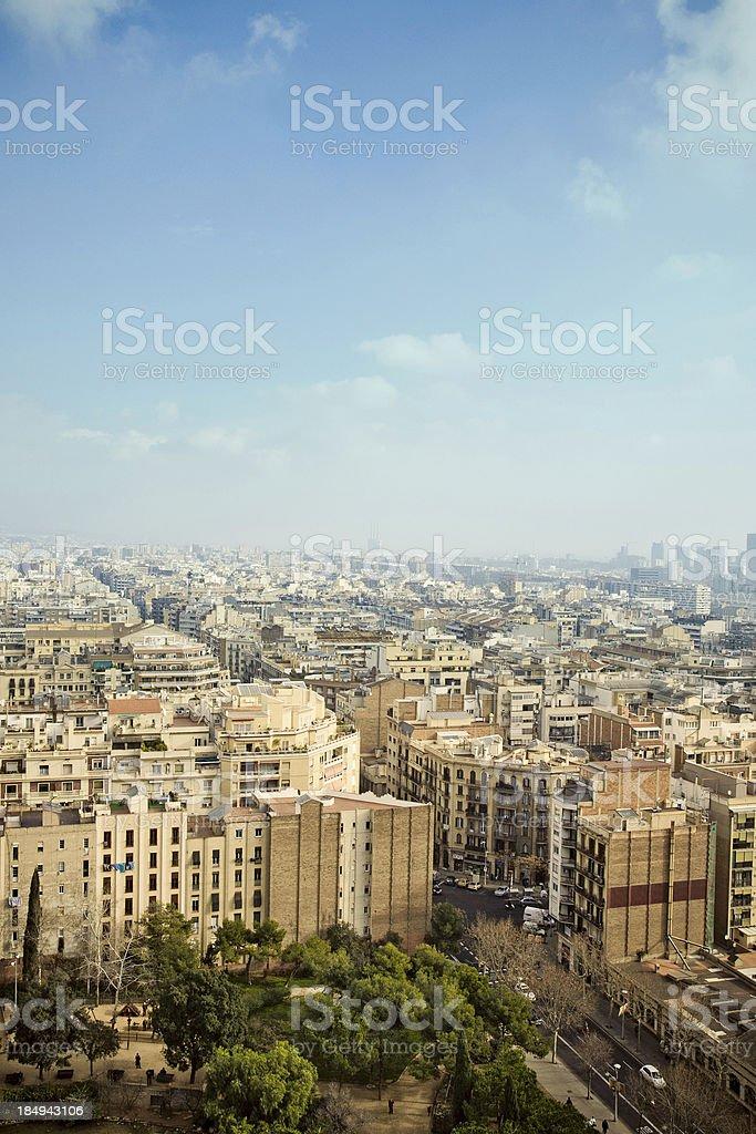 Barcelona City stock photo