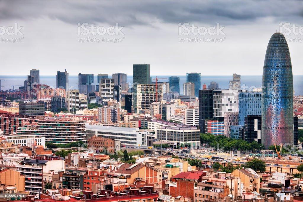 Barcelona centro ciudad - Foto de stock de Aire libre libre de derechos