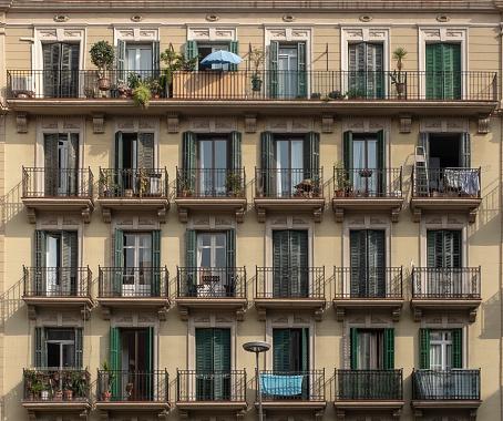 Barcelona facades