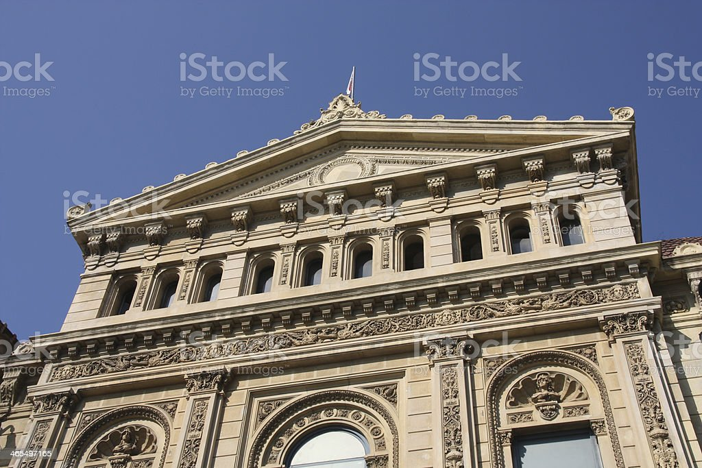 Barcelona landmark royalty-free stock photo