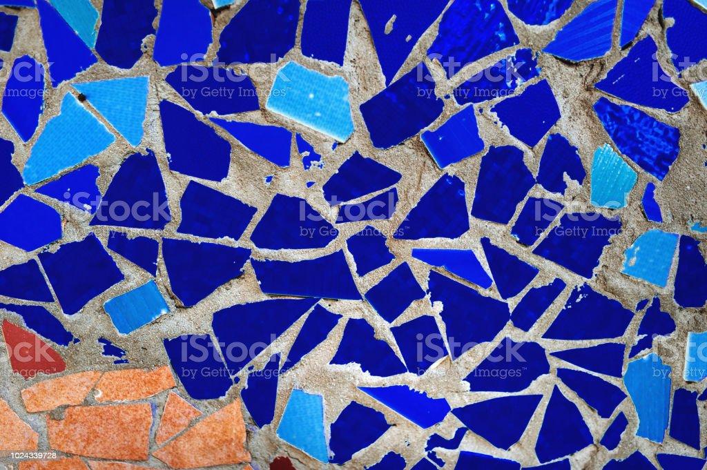 Barcelona Mosaico Multicolor De Pared Decorativo Adorno De