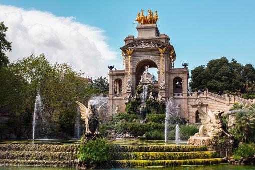 Barcelona, Parc de la Ciutadella.