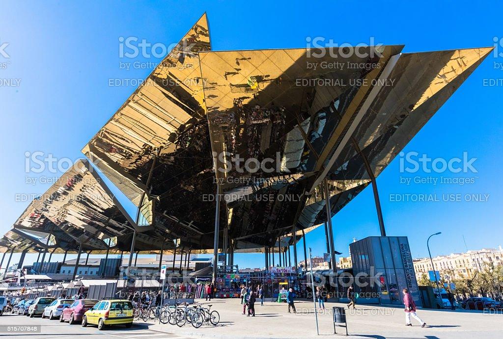 Barcelona Barcelona, Spain - March 11, 2016: Barcelona Architecture Stock Photo