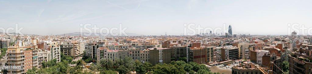Barcellona foto stock royalty-free