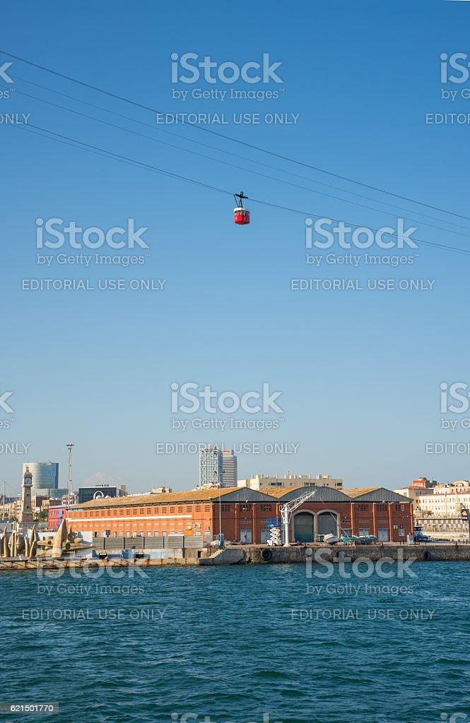 Barcelona Port - Spain foto stock royalty-free