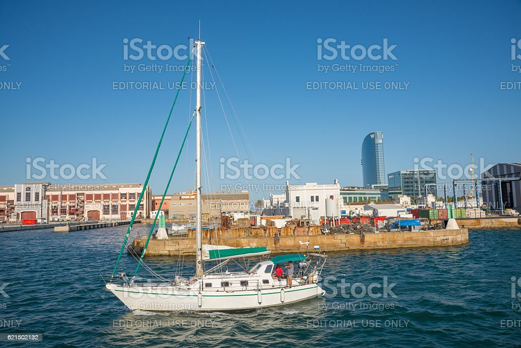 Barcelona Port - Spain foto stock royalty-free