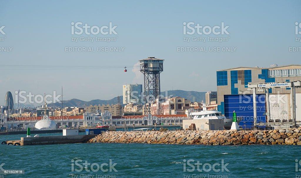 Barcelona Port - Spain photo libre de droits