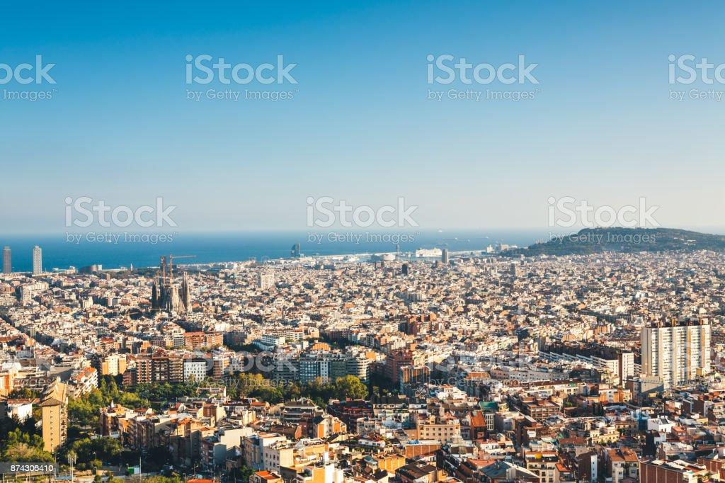 Skyline von Barcelona – Foto