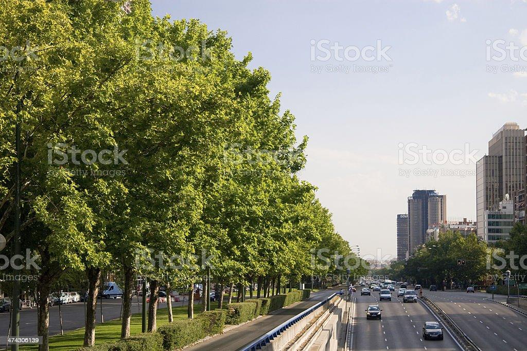 Barcelona Street - Foto de stock de Azul libre de derechos