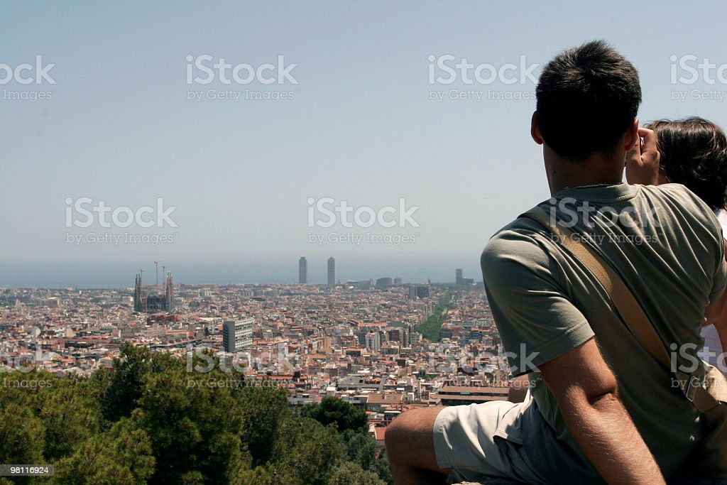Barcelona Tourist royalty-free stock photo