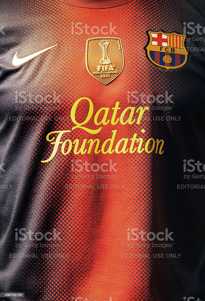 FC Barcelona T-shirt royalty-free stock photo