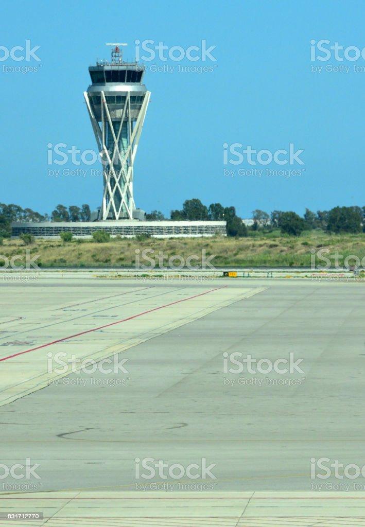 Barcelona-El Prat Airport, Catalonia, Spain stock photo