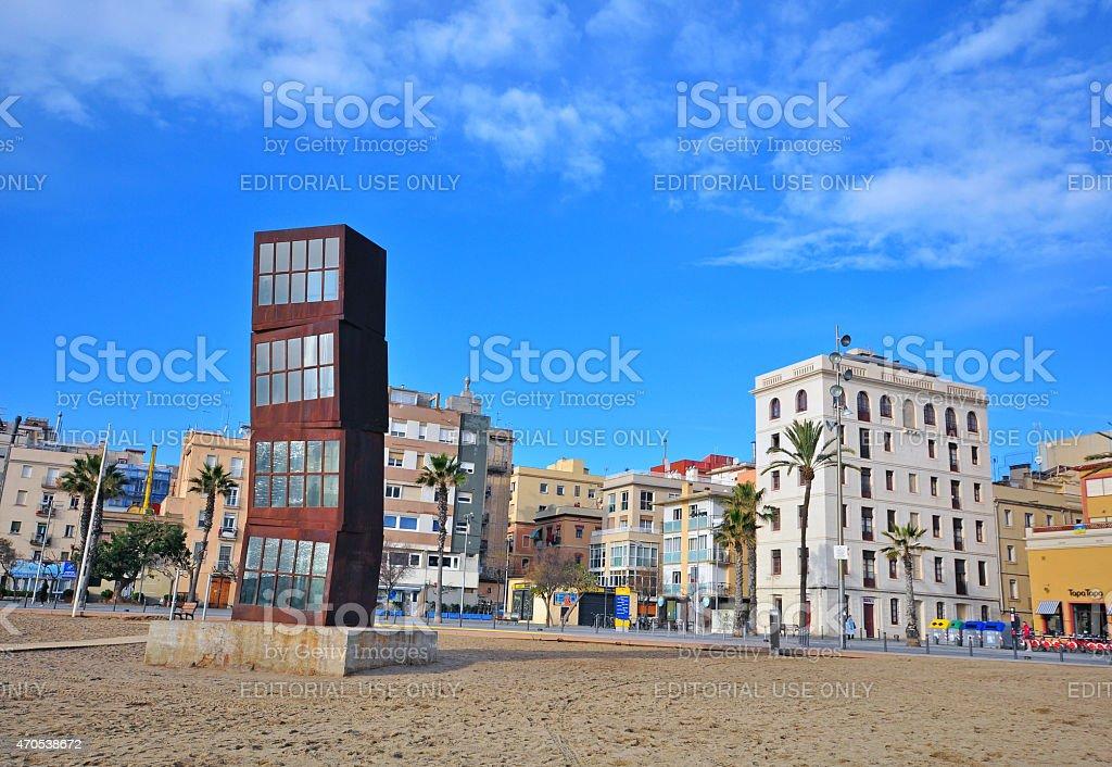 Barceloneta beach, Barcelona stock photo