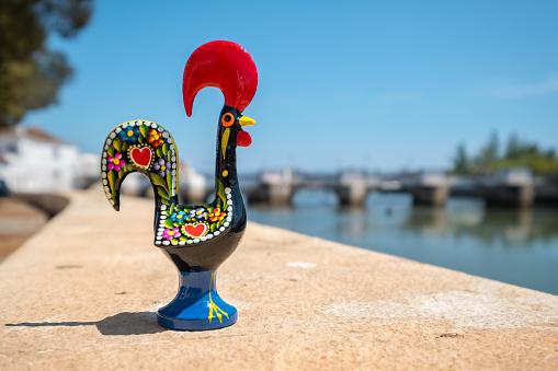 Barcelos Rooster. Tavira, Portugal