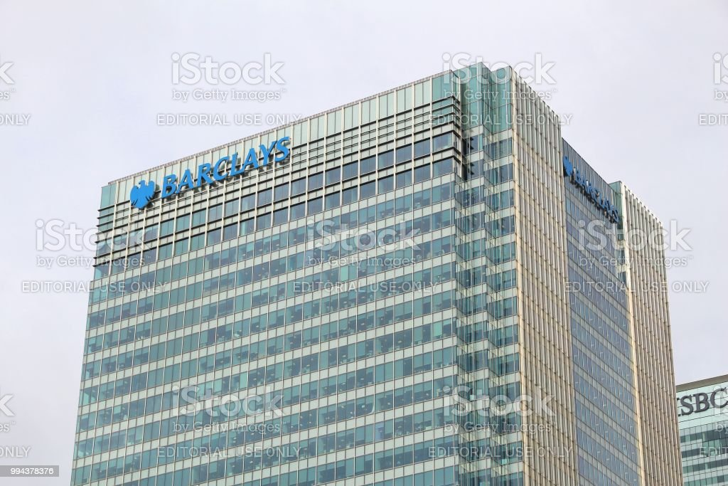 Barclays Bank hq stock photo